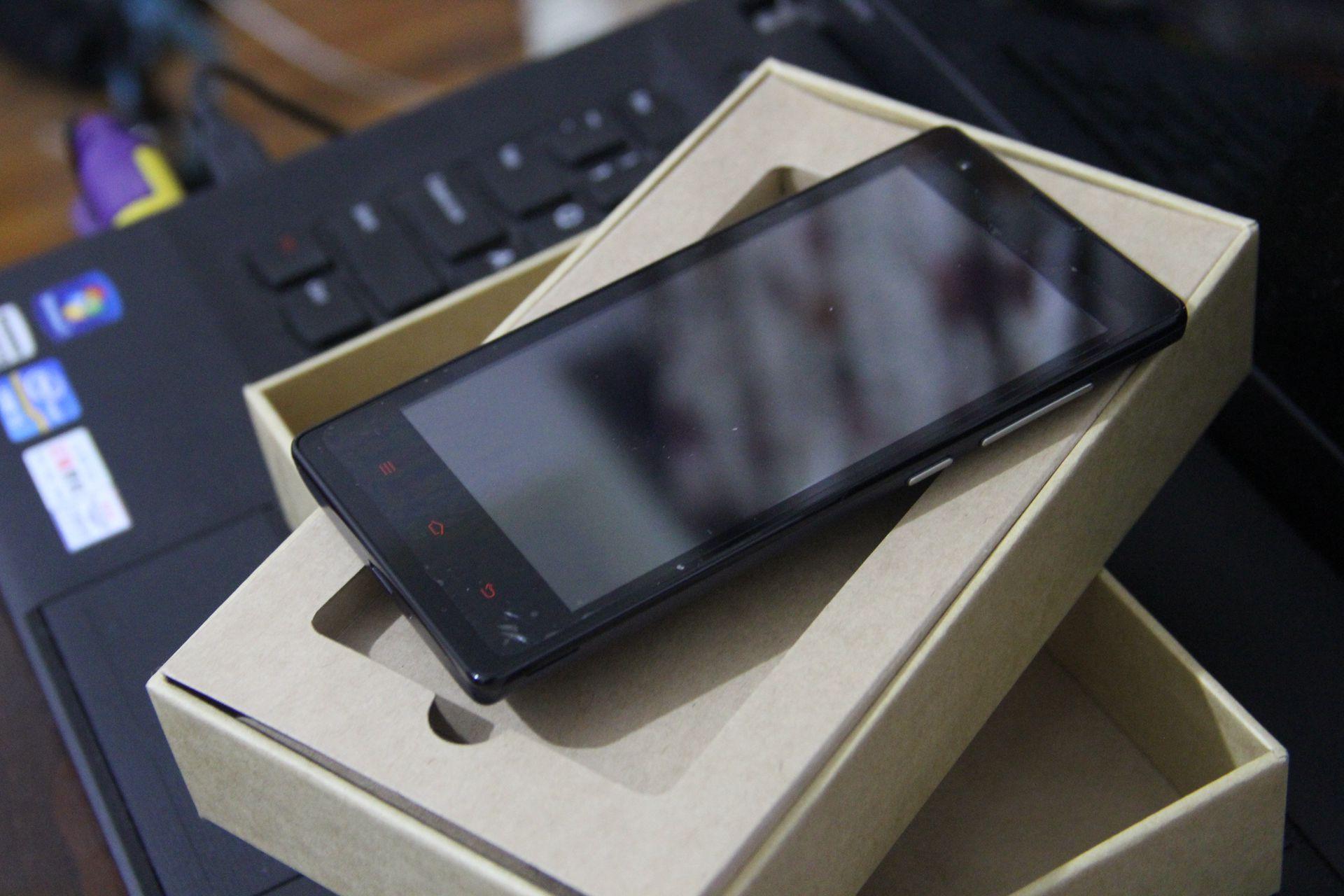 红米手机外观